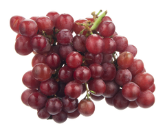 Red Seedless Grapes Bunch Organic (Approx. bag of 1lb)  - Urbery