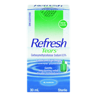 Refresh Tears Lubricant Eye Drops (30ml)