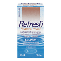 Refresh Eye Drop Redness Relief (15ml)