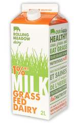 Rolling Meadow Milk Grass Fed 1% (2L)