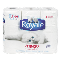 Royale Toilet Paper Mega (Pack of 9)