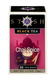 Stash Black Tea Chai Spice (20 Tea Bags)
