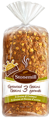 Stonemill Bread Omega 3 Sprouted Flax (454g)