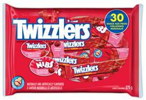 TWIZZLERS and NIBS Assorted Candy Bags  (30 pieces of TWIZZLERS and NIBS)  - Urbery