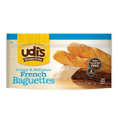 Udi's Gluten Free Crispy & Delicious French Baguettes (2 Baguettes)