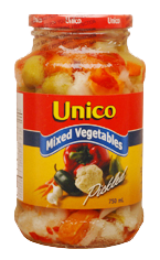 Unico Mixed Vegetables Pickled (750ml)