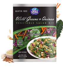 Eat Smart Sald Kit WILD GREENS AND QUINOA (255g)  - Urbery