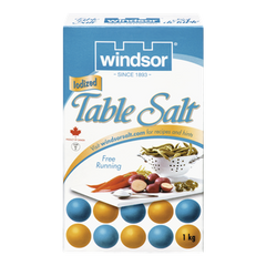 Windsor Table Salt (1kg)