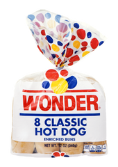 Wonder Classic Hot Dog Rolls (8/pack)