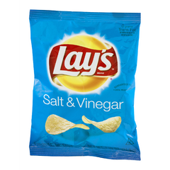 Lay's Salt & Vinegar Potato Chips  (255g)