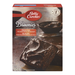 Betty Crocker Frosted Brownies Mix (550g)