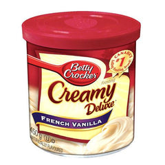 Betty Crocker Creamy Deluxe Frosting French Vanilla (450g)