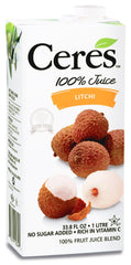 Ceres 100% Litchi Juice (1L)