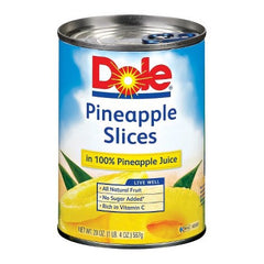 Dole Pineapple Slices in Pineapple Juice (567g)