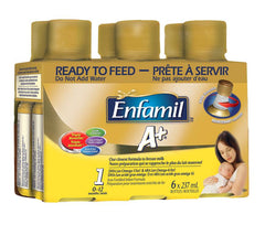 Enfamil A+ Ready to Feed Formula (6x237ml)  - Urbery