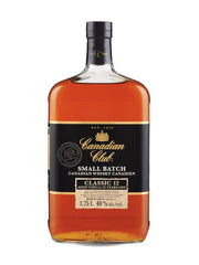 Canadian Club Classic 12 Year Old Whisky/Whiskey (1750 mL bottle)  - Urbery