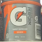Gatorade Powder Orange (560g)