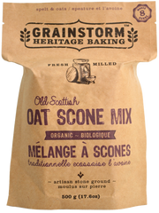 Grainstorm Heritage Baking Organic Oatmeal Scone Mix (500g)