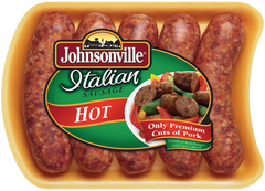 Johnsonville Hot Italian Sausage (500g)  - Urbery