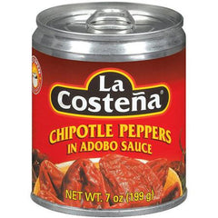 La Costena Chipotle Peppers in Adobo Sauce (199g)  - Urbery