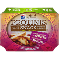 Maple Leaf Prime Chicken Snack Roasted Cranberry (2X65g)