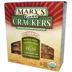 Mary's Organic Crackers Herb Crackers (184g)