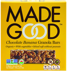 Made Good Granola Bars Chocolate Banana (5X24g)
