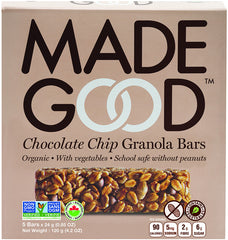 Made Good Granola Bars Chocolate Chip (5X24g)