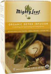 Mighty Leaf Tea Organic Detox Infusion (15 Whole Leaf Pouches)