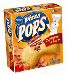 Pillsbury Pizza Pops Pepperoni + Bacon ( 400 g)