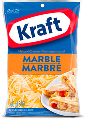 Kraft Shredded Cheese Marble (320g)