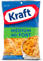 Kraft Shredded Cheese Medium (320g)
