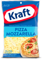 Kraft Shredded Cheese Pizza Mozzarella (320g)
