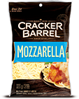 Cracker Barrel Shredded Cheese Mozzarella (320g)