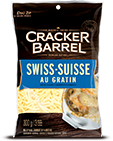 Cracker Barrel Shredded Cheese Swiss Au Gratin (300g)