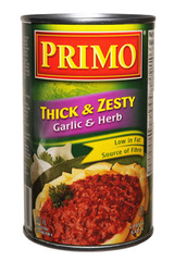 Primo Thick & Zesty Garlic & Herb (680ml)