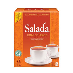 Salada Orange Pekoe Tea Bags 72 Count  - Urbery