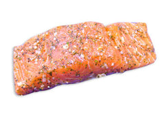 Fresh Atlantic Salmon Portions with Herbs (approx. 150g)