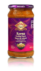 Pataks Cooking Sauce Korma (400ML)