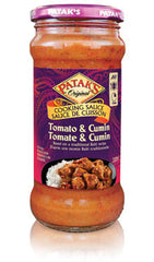 Pataks Cooking Sauce Tomato & Cumin (320ML)