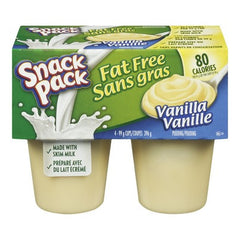 Snack Pack Fat Free Vanilla Pudding (4 pk)