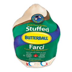 Butterball Frozen Stuffed Turkey Whole (7-9kgs)