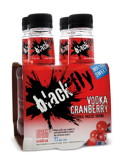 Black Fly Vodka Cranberry Coolers (4x400 mL bottle)  - Urbery