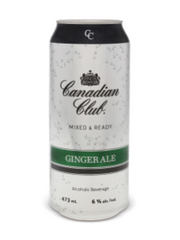 Canadian Club & Ginger Ale Coolers (473 mL can)  - Urbery