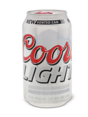 Coors Light Lager (6x355 mL can)  - Urbery
