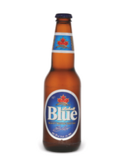 Labatt Blue Lager (24x341 mL bottle)  - Urbery