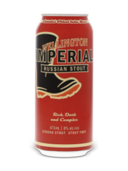 Wellington Imperial Russian Stout Ale (473 mL can)  - Urbery