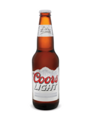Coors Light Lager (6x341 mL bottle)  - Urbery