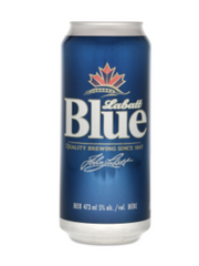 Labatt Blue Lager (473 mL can)  - Urbery