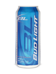Bud Light Lager (473 mL can)  - Urbery
